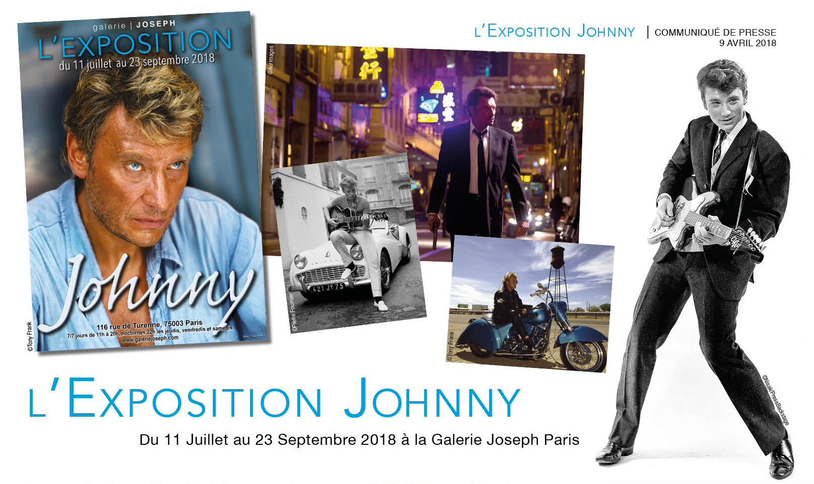 exposition en hommage johnny hallyday. Black Bedroom Furniture Sets. Home Design Ideas