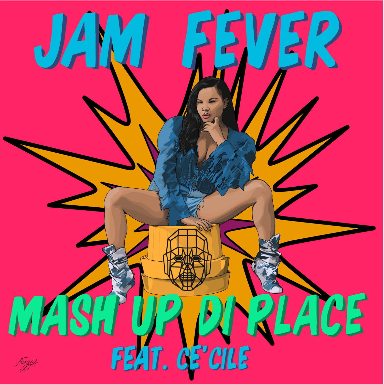 JAM FEVER - MASH UP DI PLACE FT CE'CILE